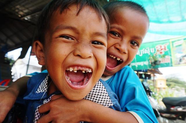 Kinderarmut in Kambodscha