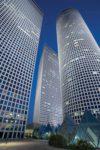Moderne Hochhäuser in Tel-Aviv