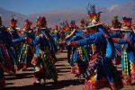 Ein Festival der Ureinwohner von Chile