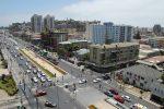 Straßenkreuzung in vina del mar in Chile